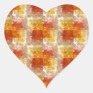 Elegant CRYSTAL : Mellow Energy Gifts Heart Sticker