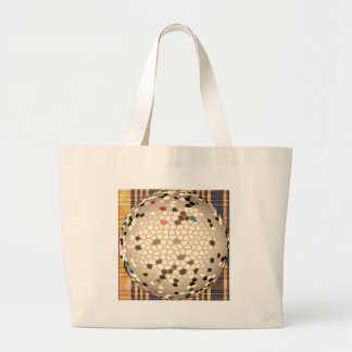 Elegant Crystalized Pattern on gifts Jumbo Tote Bag