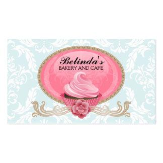 Elegant Cupcake Bakery Custom Business Cards