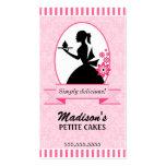 Elegant Cupcake Business Cards