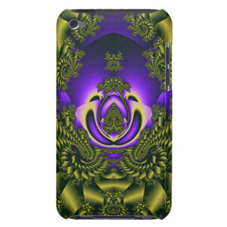 Elegant curly iPod touch case