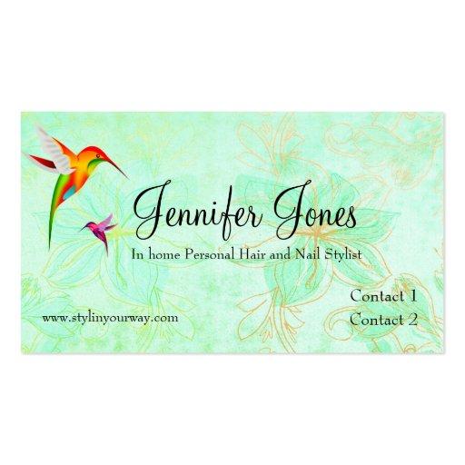 Elegant Custom Loyalty Business Card