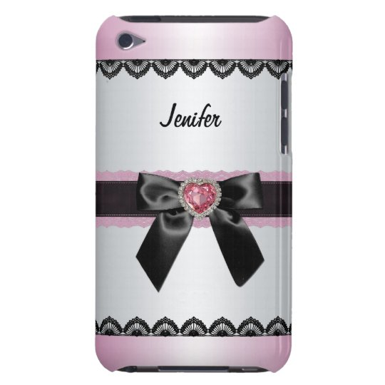 Elegant custom name iPod case