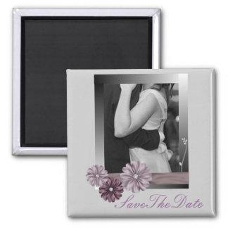 Elegant Customisable Photo WeddingFavor Fridge Magnet