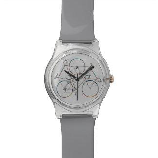 elegant cycling hour watch