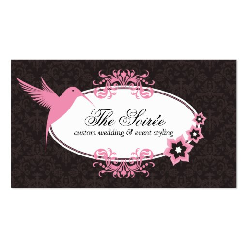 Create Your Own Wedding Planner Business Cards