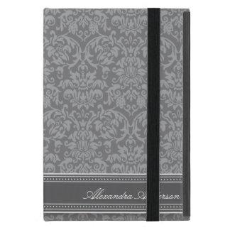 Elegant Damask iPad Mini Case (platinum)