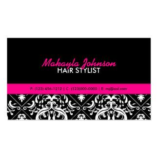 Elegant Damask Modern Stylish Business Cards