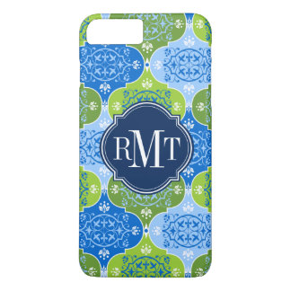 Elegant Damask Monogram iPhone 8 Plus/7 Plus Case