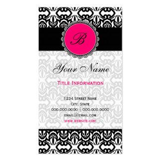 Elegant Damask Pack Of Standard Business Cards