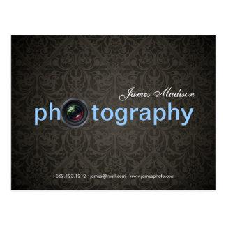 Elegant Damask Photography Postcards
