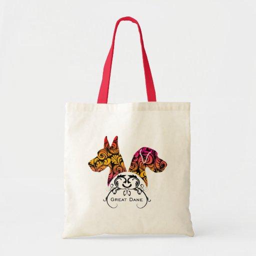 Elegant Danes Canvas Bags