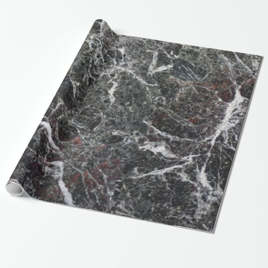 Elegant Dark Grey And White Marble Stone Wrapping