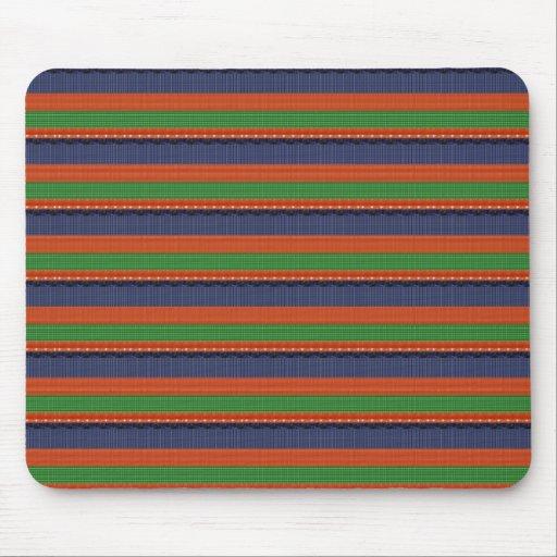 Elegant DARK SHADE Colorful Stripes :LOWPRICE GIFT Mousepad