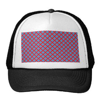Elegant DarkShade Cross Stripe Purple Pink Gifts Trucker Hat