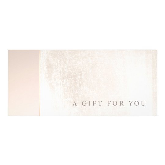 Elegant Day Spa Pink Marble Salon Gift Certificate