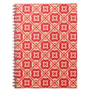 Elegant Decorative Pattern Spiral Notebook