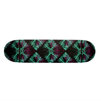 Elegant Decorative Pattern Skate Boards