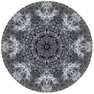 Elegant Decorative Round Pattern Custom Cut Out