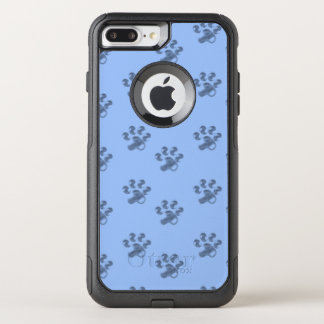 Elegant design with paws OtterBox commuter iPhone 8 plus/7 plus case