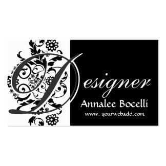 Elegant Designer Monogram Business Card Templates