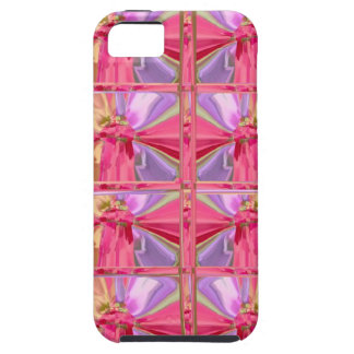 Elegant Diamond Pattern Rose Pink Smile Happy Show iPhone 5 Case