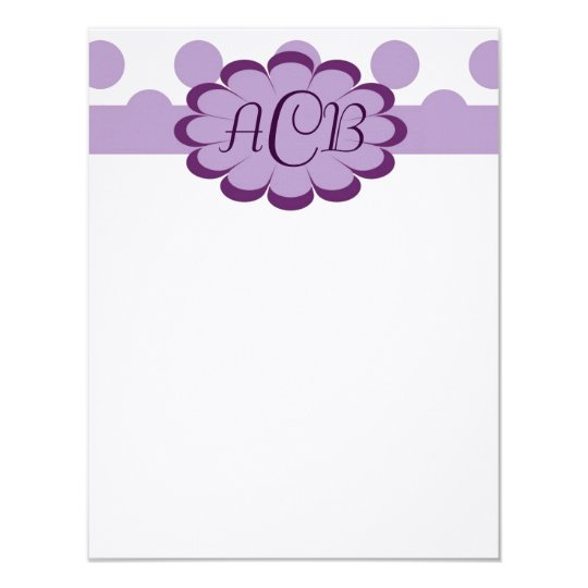 Elegant Dots Thank You Note Card