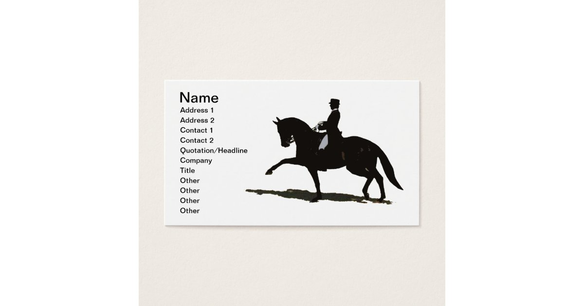 Fine Horse Business Cards Pictures Inspiration - Business Card Ideas ...