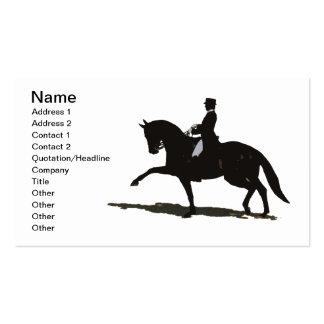 Elegant Dressage Horse Business Card