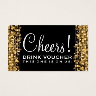 149 wedding drink voucher business cards and wedding for Drink token template