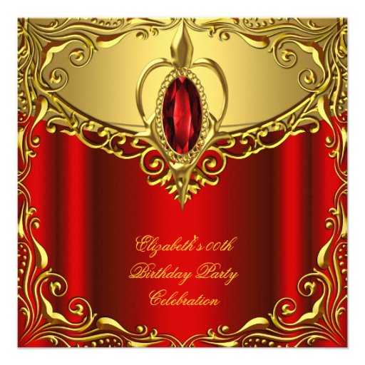 red yellow gold birthday party with yellow and gold jewel birthday