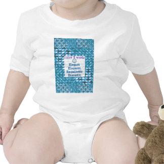 Elegant,ELOQUENT,Energetic, RELATIONSHIP lowprice Baby Bodysuits