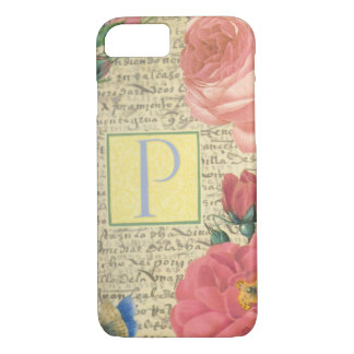 Elegant English Roses. iPhone 8/7 Case