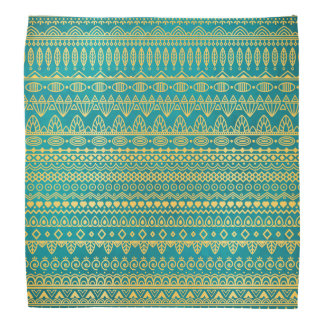 Elegant Ethnic Golden Pattern | Bandana