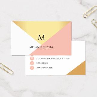 elegant event planner business card