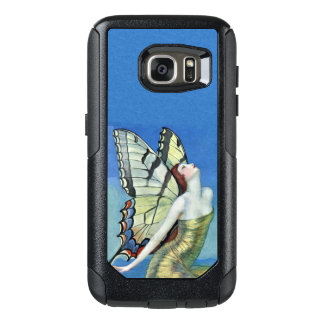 Elegant Fairy Ornate Monarch Butterfly Wings OtterBox Samsung Galaxy S7 Case