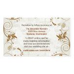 Elegant Fall Wedding enclosure cards