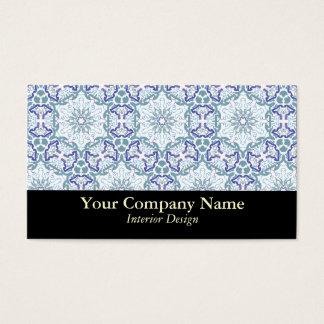 Elegant Fancy Pattern Custom Business Cards