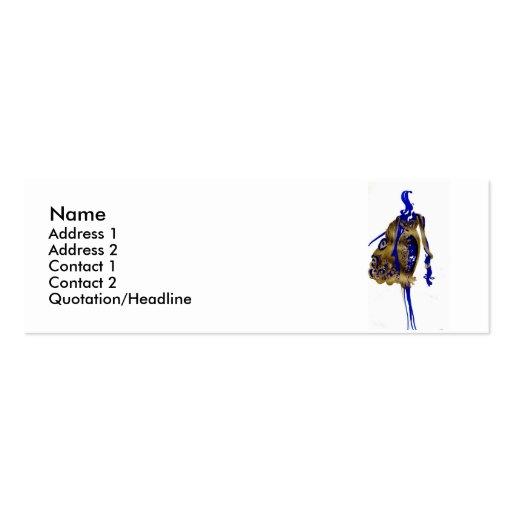 Elegant fashion silhouette Business card