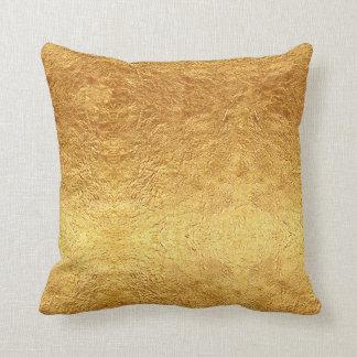 Gold Foil Cushions - Gold Foil Scatter Cushions Zazzle.co.uk