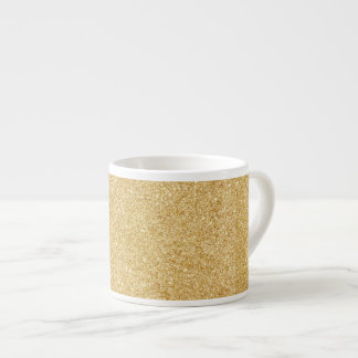 Elegant Faux Gold Glitter
