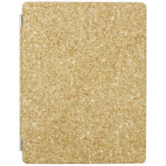 Elegant Faux Gold Glitter iPad Cover