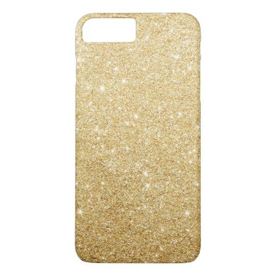 Elegant Faux Gold Glitter Luxury iPhone 7 Plus