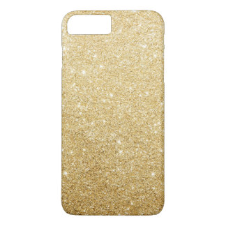 Elegant Faux Gold Glitter Luxury iPhone 8 Plus/7 Plus Case