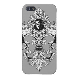 Elegant Fleur De Lis Iphone Case Case For iPhone 5