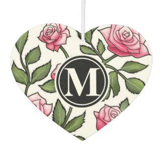 Elegant Floral and Monogram
