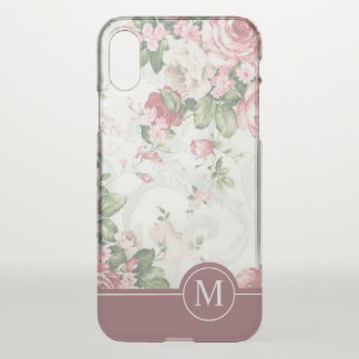 Elegant Floral Design Monogram | Phone Case