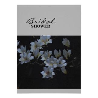 Elegant Floral Embroidery 11 Cm X 16 Cm Invitation Card