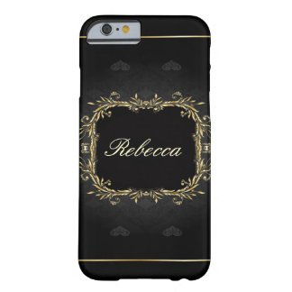 elegant floral girly vintage paris fashion barely there iPhone 6 case