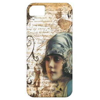 elegant floral girly vintage paris fashion iPhone 5 case